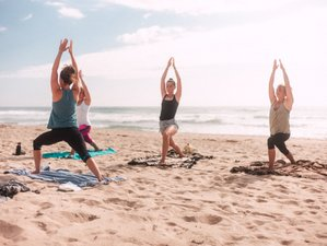 8 Day International Yoga and Surf Camp in Estela, Porto