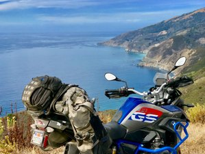 5 Days North by Northwest Motorcycle Tour in California, USA