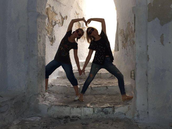 8 jours en stage de yoga à Santorin, Grèce