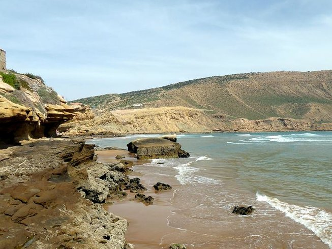 Camel Leren Bank.8 Days Intermediate Surf Camp In Tamraght Souss Massa Morocco