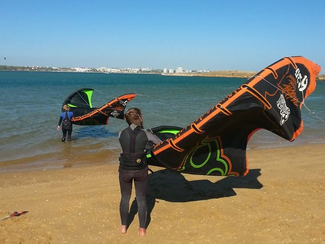 8 Days Kitesurfing Camp in Lagos, Portugal