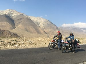 8 Day Mustang The Forbidden Kingdom Guided Motorcycle Tour in Nepal