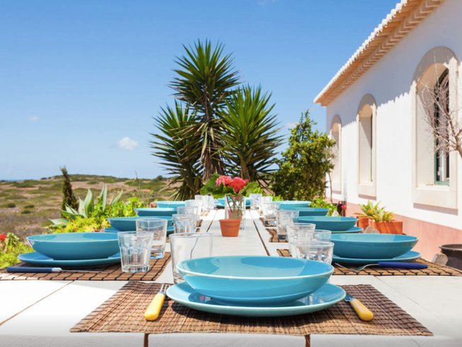 7 Days Yoga and Surf Holiday in Faro, Portugal