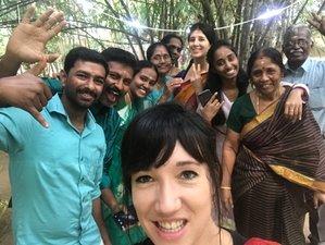 2 Days Silent, Vegan Fasting Yoga Retreat near Pondicherry in Tamil Nadu, India