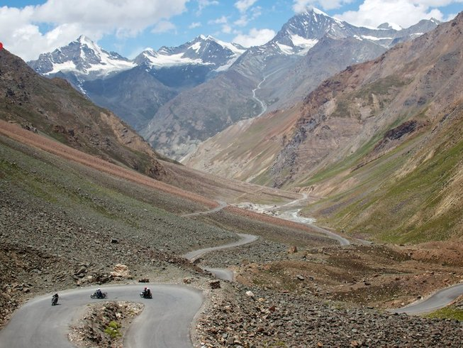 13 Days Delhi to Leh Luxury Motorcycle Tour in India