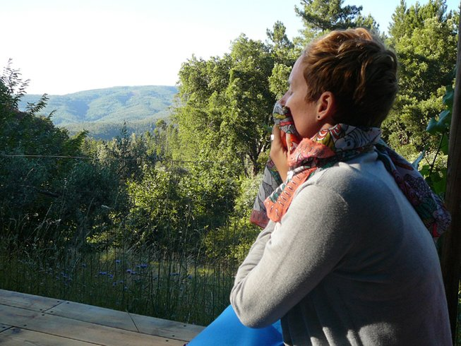 7 Days Turning Inward Autumn Yoga Retreat in Oleiros, Portugal