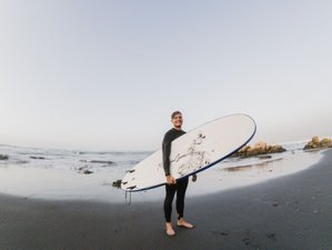 True beginner week: 8 Days Spanish Class and Surf Group Camp in Pichilemu, Chile