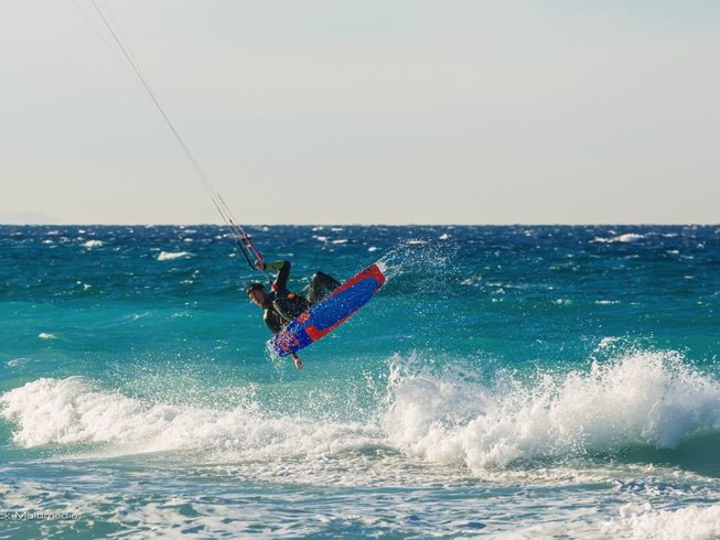 8 Days Advanced Kite Surf Camp Rhodes, Greece