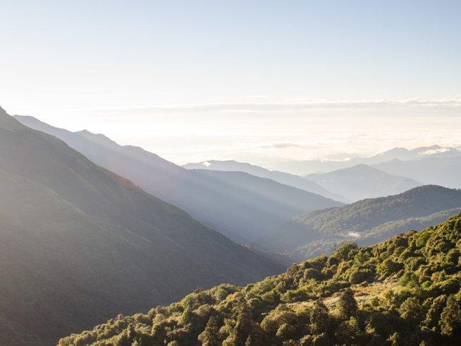 11 jours en stage de yoga et trekking dans le massif d'Annapurna, Népal