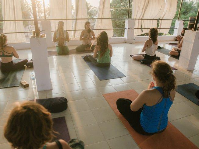 39 días profesorado de yoga de 300 horas en Goa, India