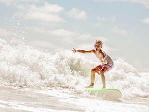 5 Days Family Surf Camp California