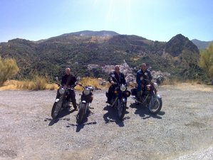 5 Days Royal Enfield Bullet Guided Motorcycle Tour in Southern Spain