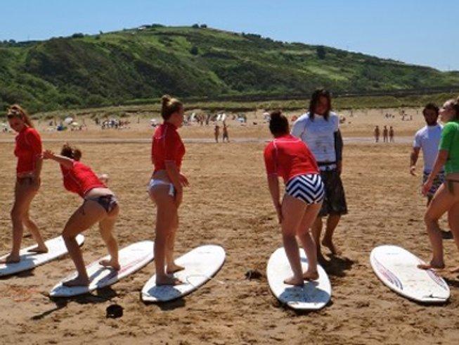 10 Days Surf Camp in Zarautz, Spain