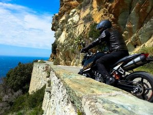 6 Day Guided Motorcycle Tour in Corsica, France