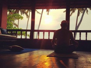 7 Days Boutique Ayurveda and Yoga Beach Retreat in Kerala