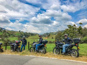 2 Day Trout Farm Visit and Guided Motorcycle Tour in Antioquia