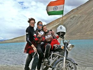 12 Day Guided 4 Lakes and 12 Passes of Himalaya Motorcycle Tour in Ladakh for Women
