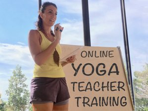 Self Paced 300-Hour Online Yoga Teacher Training with Hatha, Vinyasa, Yin and Aerial Yoga
