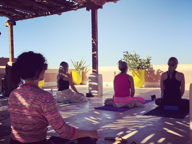 8 Days Yoga and Meditation Retreat in Morocco for Experienced Practitioners and Yoga Teachers