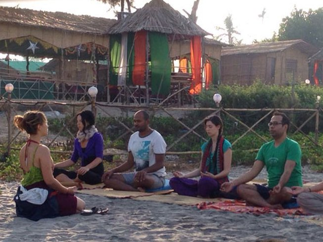 26 Days 200 hour Yoga Teacher Training in Goa India