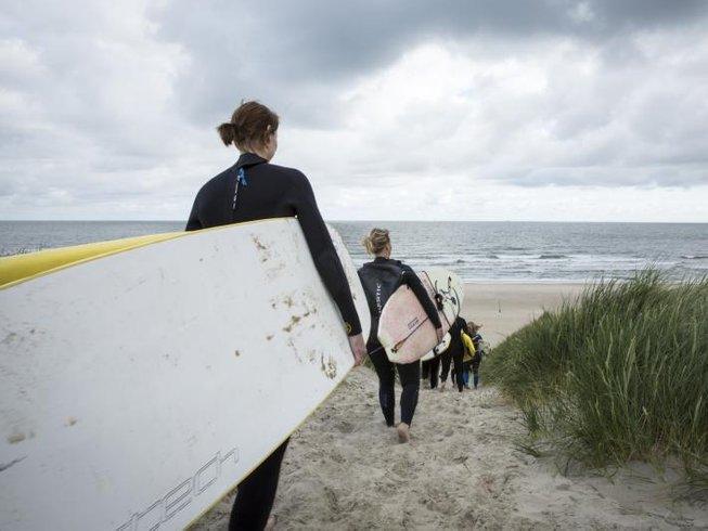 3 Days Women's Surf and Yoga Retreat Netherlands