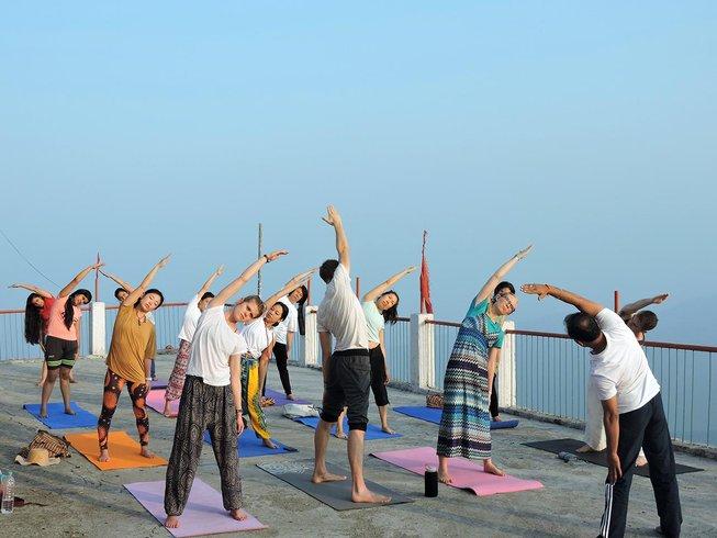 70-Daagse 500-urige Hatha Yoga Docentenopleiding in Rishikesh, India