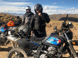 8 Day Andean Guided Motorcycle Tour from Lima to Arequipa, Peru with Machu Picchu Visit