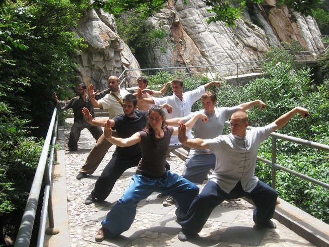 5 Months Authentic Kung Fu Training in Jilin, China