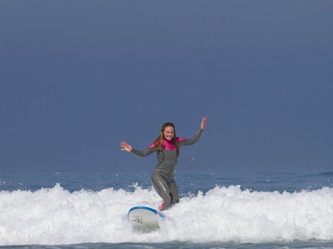 5 Tage Yoga und Surf Urlaub in Columbeira, Portugal