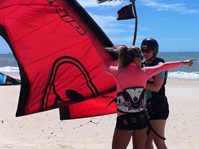 4 Days One-on-One Intermediate Kitesurfing Camp in Ceara, Brazil