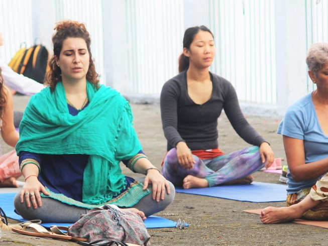 30 Days 300hr Yoga Teacher Training in Rishikesh, India