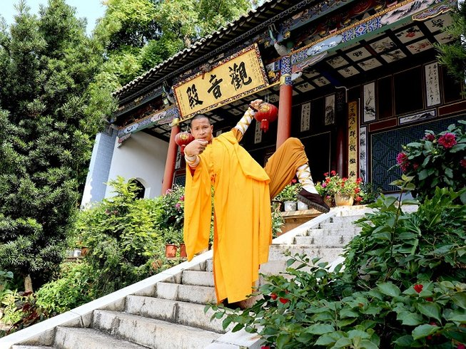 3 Months Songshan Kung Fu School Training in Mile, China