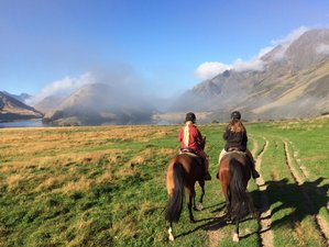 2 Days Queenstown Moonlight Valley Overnight Trek Horse Riding Holiday in New Zealand
