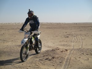 6 Days Guided Motorcycle Tour in Tunisia and across the Sahara Desert