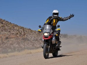 9 Day Atlas and Desert Guided Motorcycle Tour with Billy Biketruck in Morocco