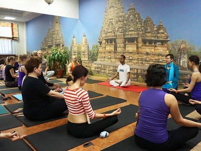 27 Days 200-Hour Yoga Teacher Training in India
