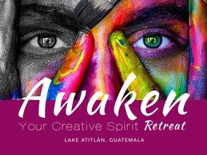 7 Day Awaken Your Creative Spirit Yoga Retreat: Earth Deep in Tzununa, Lake Atitlan