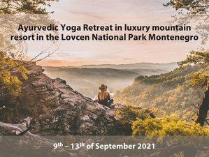 5 Day Ayurvedic Yoga Retreat in Lovcen National Park, Cetinje