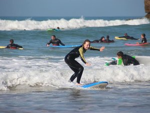 8 Days Beginners and Intermediate Surf Coaching Camp in Agadir, Morocco