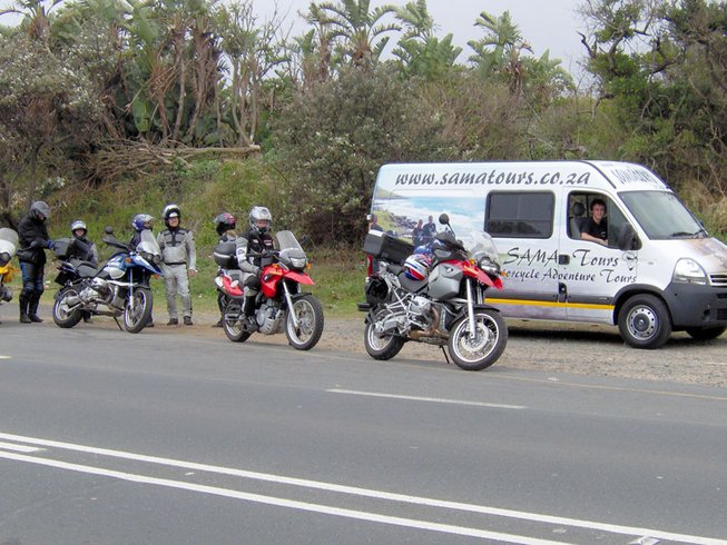 11 Days Swaziland and South Africa Safari and Motorcycle Tour