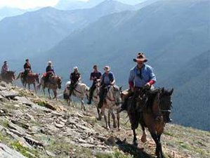 7 Day Lost Trail Horse Riding Holiday in Alberta