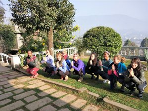 21-Daagse Transformerende Yoga Retraite in Nepal