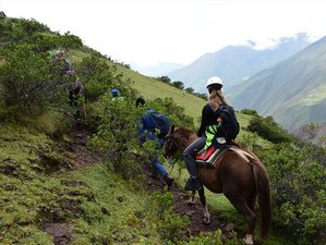 5 Day Ancient Inca Trail to Machu Picchu Horse Riding Trek in Peru