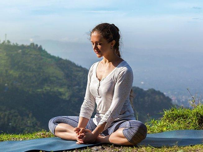 5 Tage Meditation und Hatha Yoga Urlaub in Madhya Pradesh, Indien