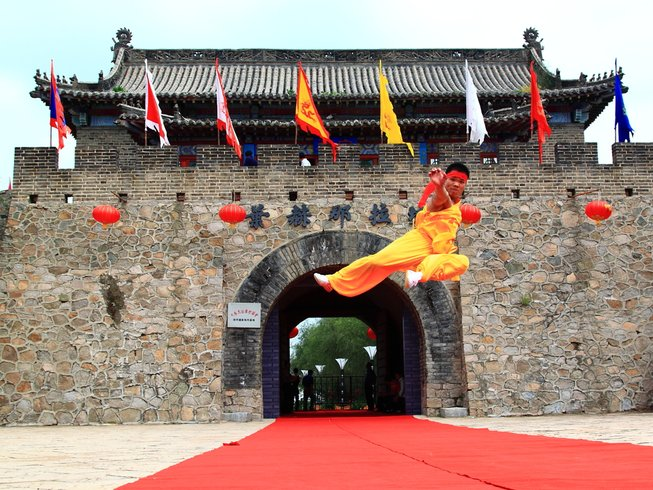 1 Month Kung Fu Training in Siping City, Jilin, China