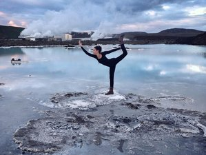 5 Days Fire and Ice Yoga Retreat in Southwest Iceland
