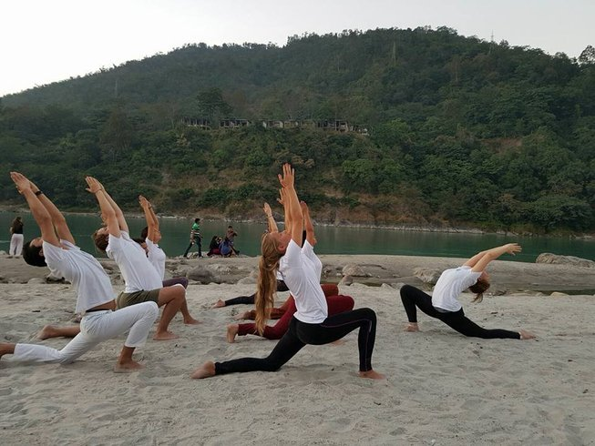 14 Tage Transformierender Meditations- und Yoga Urlaub in Rishikesh, Indien