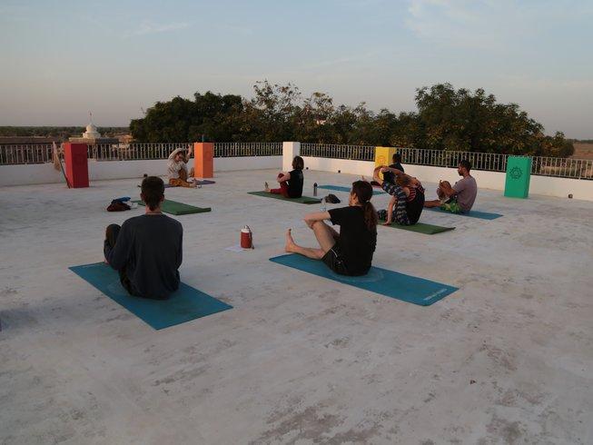13 Tage Yoga Lifestyle Retreat im Ashram in Rajasthan, Indien