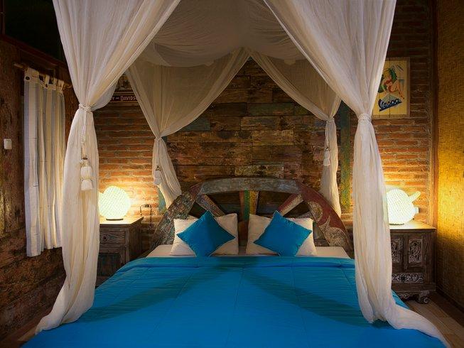 5 Tage Ashtanga und Vinyasa Yoga Urlaub am Balian Beach, Bali