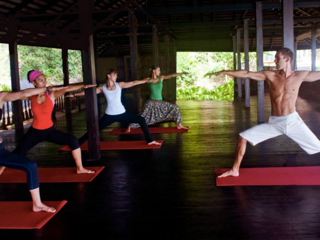 5 Days Meditation, Yoga and Anti-Stress Holiday in Thailand
